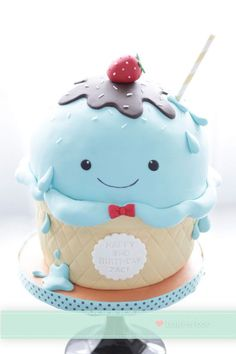 Cute Icecream Cupcake - Cupcake Daily Blog - Best Cupcake Recipes .. one happy bite at a time! Chocolate cupcake recipes. cupcakes