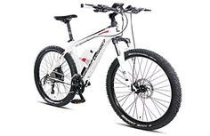 Special Offers - Magnum Leisger MD5 Pure Power Electric Bicycle  Electric Mountain Bike 350w WHITE Free Gift 16000mAh Solar Power Bank - In stock & Free Shipping. You can save more money! Check It (June 30 2016 at 06:24AM) >> http://roadbikesusa.net/magnum-leisger-md5-pure-power-electric-bicycle-electric-mountain-bike-350w-white-free-gift-16000mah-solar-power-bank/