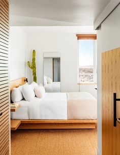 Hotel June's modern aesthetic seamlessly blends Southern California inflections and beach culture with the classic mid-century architecture of the historic building originally designed by Welton Beckett (previously Custom Hotel). Rooms are well-appointed with custom furnishings, Italian Fili d'Oro linens and Aesop bath products, among other comforts including stunning coastal and city views.