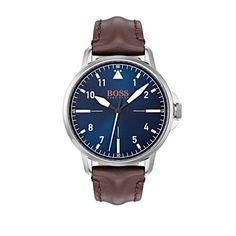 Ανδρικό ρολόι BOSS ORANGE 1550060 με καφέ λουρί c62cbac783f
