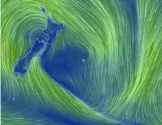 The weather system causing nasty conditions across the country is now in a 'death spiral '. Auckland, New Zealand, Death, Waves, Country, Outdoor, Outdoors, Rural Area, Ocean Waves