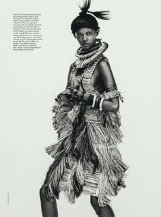 Vogue Australia's April 2014 | Tomorrow's Tribe | Cultures around the world. Inspiration #culture #world #travel #vogue