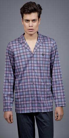 Men's Pyjamas S. Pyjamas, Button Down Shirt, Men Casual, Luxury, Mens Tops, Shirts, Collection, Fashion, Moda