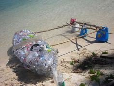 kayak made from recycled plastic bottles