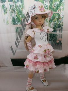 BJD 1/4 , 45CM, KAYE WIGGS (and similar dolls) -ONLY OUTFIT