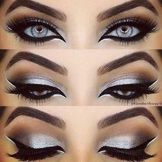 Sexy Silver Eye Look By Carolinebeautyinc - Angelica Sky …