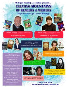 See our high school offerings for our Summer Literature Conference. Read Aloud, Keynote, Professor, Conference, Literacy, Michigan, Literature, Writer, High School