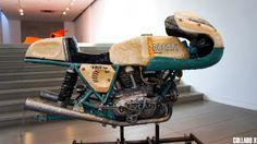 artist Osang Gwon - Ducati 750ss