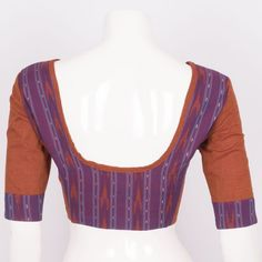 Hand Crafted Ikat Cotton Blouse 10008580