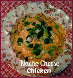 Sweet Tea and Cornbread: Slow Cooker Nacho Cheese Chicken!