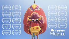 MOBILE A cow tips the balance of destiny. Aspen, Pixar, Cow Tipping, Children's Films, Anima Mundi, Graduation Project, Film D'animation, Kung Fu Panda, Cool Animations