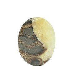 Utah Septarian Gemstone Crystalline Yellow by FenderMinerals