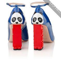Camilla Elphick Blue Panda Chi Chi Heels
