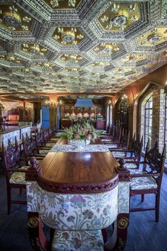 Perched upon the Karbonkelberg Mountain in Hout Bay, the Litchtenstein Castle is something out of a fairytale – with a guarding dragon statue, a tower and a ballroom fit for royalty. Lichtenstein Castle, Bed Frame Design, Honeymoon Suite, Elegant Chandeliers, Black And White Theme, Dragon Statue, Banquet Tables, Arched Windows, Wedding Receptions