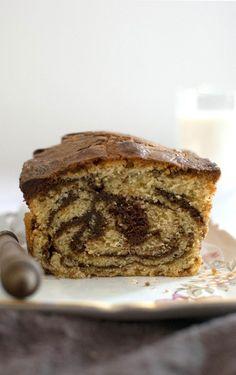 Δίχρωμο κέικ (marble cake) | Call the Cook Marble Cake, Banana Ice Cream, Strawberry Banana, Banana Bread, Cooking, Desserts, Nice, Food, Cakes