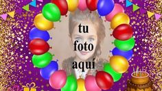 Feliz Cumpleaños Pastel De Chocolate Marcos para fotos Birthday Card With Name, Birthday Cards, Happy Birthday Pictures, Modern Art, Cake, Christmas, Chocolate, Photos, Mariana