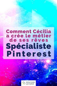 Dans cette interview de Cécilia   Spécialiste Pinterest, tu vas découvrir un métier technique aux multiples facettes, son organisation, ses clients, ses conseils et ses podcasts favoris. #pinterest #métier #interview