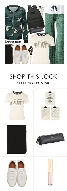 """""""Go Back-to-School Shopping!"""" by beebeely-look ❤ liked on Polyvore featuring Topshop, House Doctor, Marc Jacobs, Smythson, Givenchy, Dolce&Gabbana, Balmain, BackToSchool, casual and sammydress"""