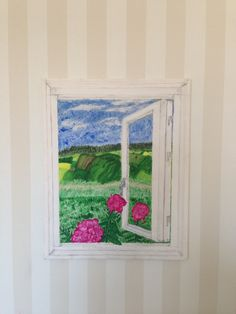 Fönster till friheten - Akryl på canvas