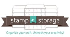 Paper craft storage solutions for all your stamps, scrapbooking supplies, and art materials! Organize your craft supplies in your craft room with drawers, shelves, holders and more! Ink Pad Storage, Stamp Storage, Cube Storage, Craft Paper Storage, Paper Organization, Sticker Organization, Stickers Vitrine, Ikea Kallax Shelving, Licht Box