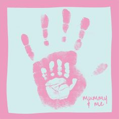 Mama & baby hand <3 this is freaking adorable! So doing this! Just wonder if my kids r still little enough to do it Nursery Pictures, Baby Handprint Ideas, Handprint Art, Baby Hands, Baby Hand Prints, Baby Art, Mama Baby, Mommy And Me, Projects For Kids
