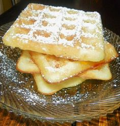 Cream Waffles from Food.com:   								A danish recipe posted for ZWT - Scandinavia