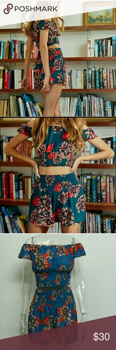 Two Piece Playsuit New! ilovekittens21 Boutique Other