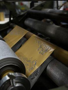 printing process: foil stamping