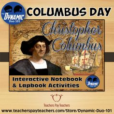 Christopher Columbus Interactive Notebook Activities Grades 4-6 allows students to think on a higher level by virtue of collaborative and imaginative work. Students will create their lapbooks and/or use the templates for an interactive notebook for differentiated, self-directed learning!
