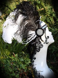 Gatsby inspired Flapper headdress headpiece by TartanToppers, $65.00