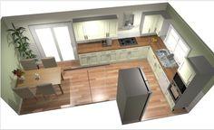 Image result for l shaped kitchen diner