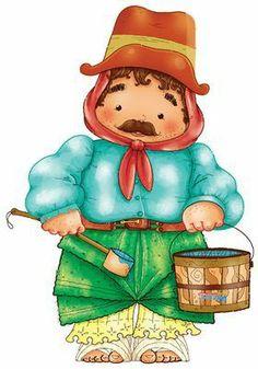 El rincon de la infancia: ♥ 25 de Mayo listo para imprimir y decorar ♥ Luigi, Smurfs, Education, Chile, Google, Printables, Collections, Blog, Beautiful
