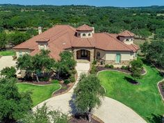Most Beautiful, Beautiful Places, Winding Road, Texas Hill Country, Mediterranean Style, Luxury Living, Real Estate, Backyard, Homes