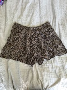 Free People Cheetah Print Shorts Women's Sz M* in Clothing, Shoes & Accessories, Women's Clothing, Shorts   eBay