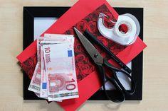 Geldgeschenk Ehe-Jackpot: Material