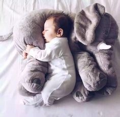 2016 fashion baby animal elephant style placate doll stuffed plush pillow kids room bed decoration toys