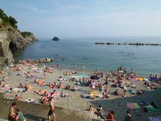 Spiaggia, Monterosso al Mare Italia (Luglio)