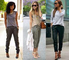 Jeitos de usar: jogger pants - Moda it