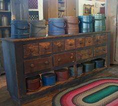 Very cool apothecary cupboard from Country Treasures