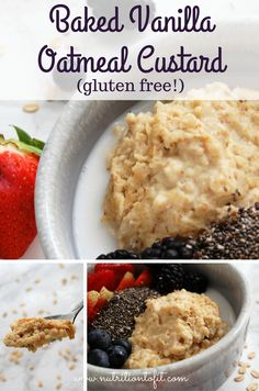 Oatmeal is anything but boring in this delicious, decadent make-ahead breakfast your kids will never know is healthy and packed with protein and fiber! You guys. I cannot begin to describe how freaking awesome this Baked Vanilla Oatmeal Custard is. It is just soooo creamy, comforting, and delicious. Like – when I was developing the …