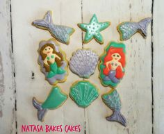 Under the sea party cookies!!!