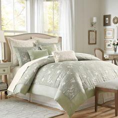 J Queen New York Valdosta Aqua Comforter Set | Bedrooms ...