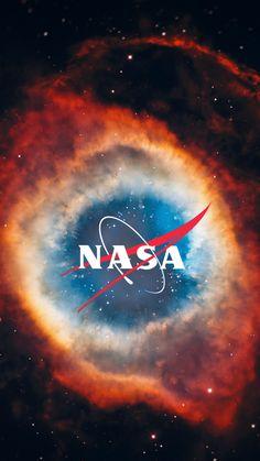 NASA Logo iPhone Wallpaper Space Town NASA