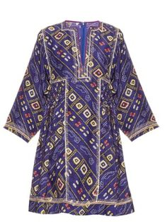 Thurman printed silk dress | Isabel Marant | MATCHESFASHION.COM UK