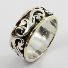 PLAIN SILVER ,BRASS & COPPER LOVELY DESIGN 925 STERLING SILVER RING #SilvexImagesIndiaPvtLtd #Band