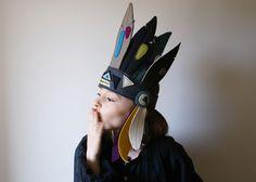 ateliersreinette: coiffe d'indien