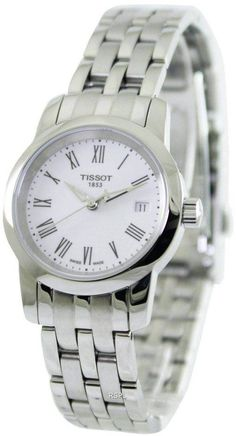 Features: stainless steel case stainless steel bracelet quartz movement caliber: sapphire crystal white dial date display deployment clasp water resistance approximate case diameter: approximate case thickness: Stainless Steel Bracelet, Stainless Steel Case, Online Watch Store, Watch Sale, Bracelet Watch, Fashion Shoes, Quartz, Watches, Classic