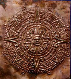 Inca Sun symbol by Julie Caldwell, via Flickr Mass Of Earth, 5th Grade Art, Aztec Art, Ancient Mysteries, Tatoos, Masks, Routine, Mystery, Tattoo Ideas