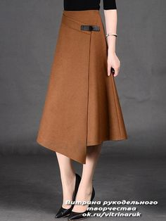 Spring Autumn Formal A-Line Long Skirt For Girls All-Match Solid Mid-Calf Bust Skirt Women's Timmiury Women Sexy Winter Wool Skirts High Waist A-line Casual Midi Skirt Gray/Khaki/Red Saia Longa 2017 Autumn Office Skirts skirt with buckle detail i hav Modest Fashion, Fashion Dresses, Stylish Dresses, Vintage Skirt, Blouse Vintage, Mode Inspiration, Korean Fashion, Dress Skirt, Vintage Outfits