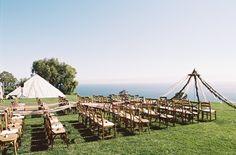 Unique Rustic California Wedding at Catalina View Gardens